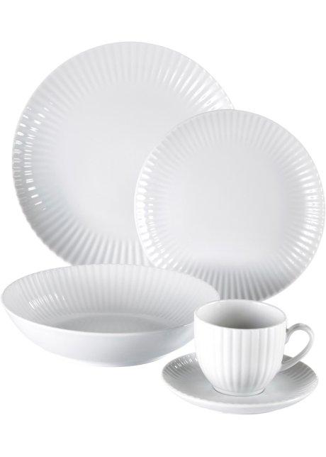 9004efad23cd4 Service vaisselle Porto (30 pièces) blanc - bpc living - bonprix.fr