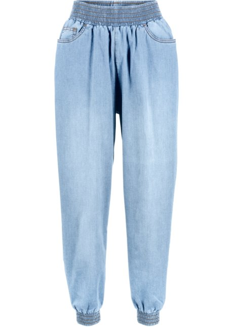 purchase cheap beauty great deals 2017 Jean Baggy à taille confortable