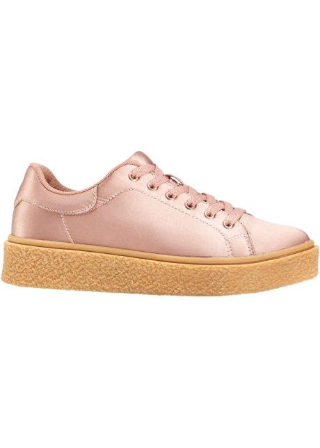 sneakers à plateau rose vintage - femme - rainbow - bonprix.fr