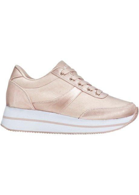sneakers à plateau vieux rose - rainbow acheter online - bonprix.fr