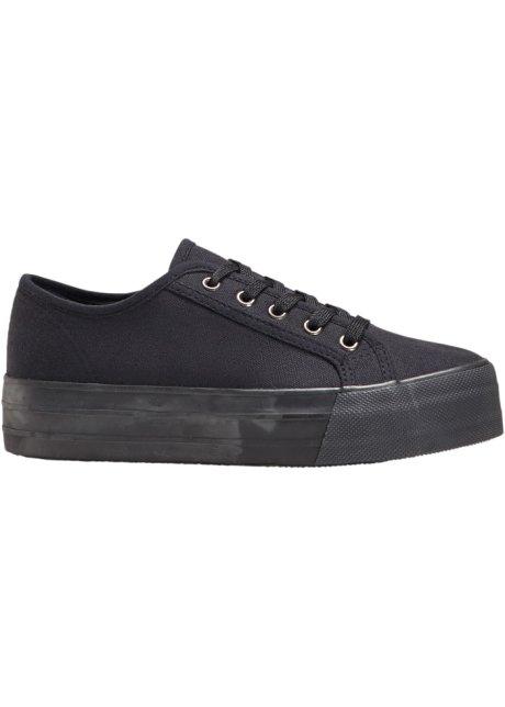 sneakers à plateau noir - rainbow acheter online - bonprix.fr