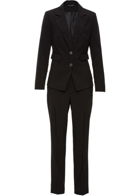 d252de89eb3 Tailleur pantalon noir - BODYFLIRT acheter online - bonprix.fr