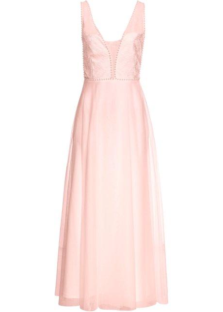 4cc82b32a9a Robe de soirée vieux rose - BODYFLIRT boutique commande online ...