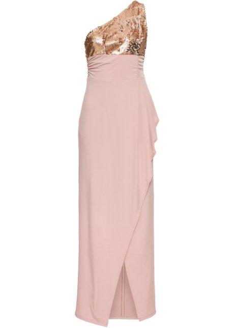 8766763b4a Robe de soirée à paillettes rose vintage - Femme - bonprix.fr