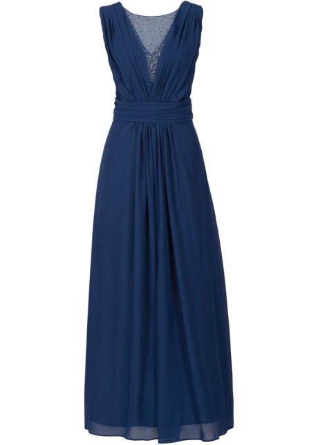Robe Longue Bleu Nuit Bodyflirt Bonprix Fr