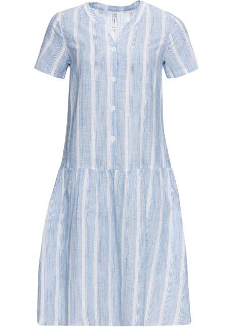 b3be390b56 Robe à rayures bleu/blanc rayé - RAINBOW - bonprix.fr