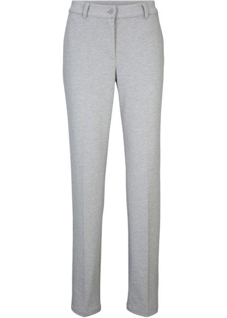 Pantalon de tailleur Punto di Roma gris clair