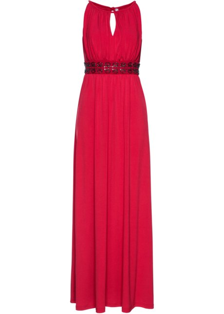 Robe Longue Rouge Bpc Selection Premium Bonprix Fr