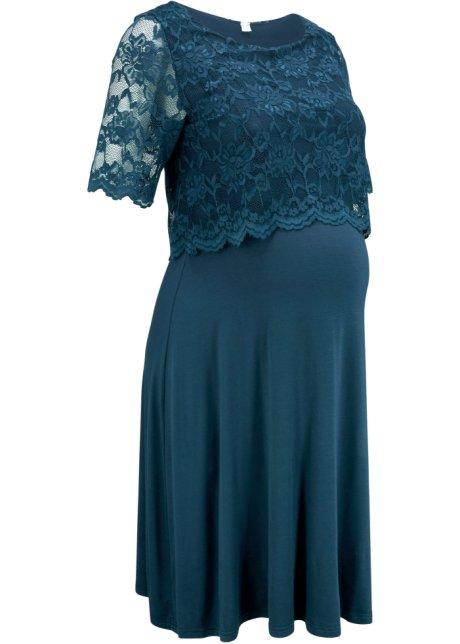 Robe De Ceremonie De Grossesse Avec Fonction Allaitement Bleu Fonce Bpc Bonprix Collection Commande Online Bonprix Fr