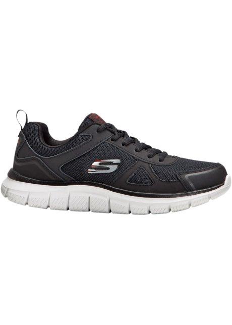 Escupir Seguro apaciguar  Sneakers confortables à mémoire de forme - noir/blanc
