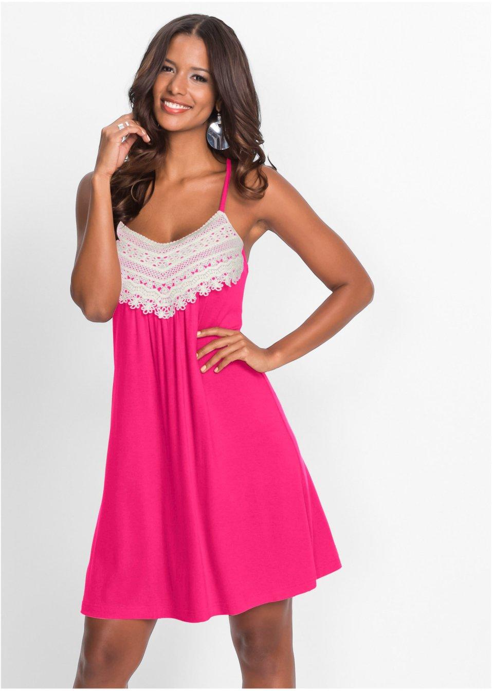robe estivale rouge bodyflirt boutique acheter online