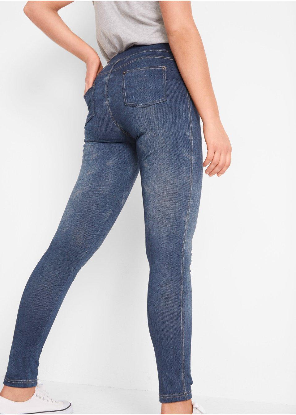 Mode Femme Vêtements DJLfdOFlkj Legging aspect jean bleu John Baner JEANSWEAR .fr