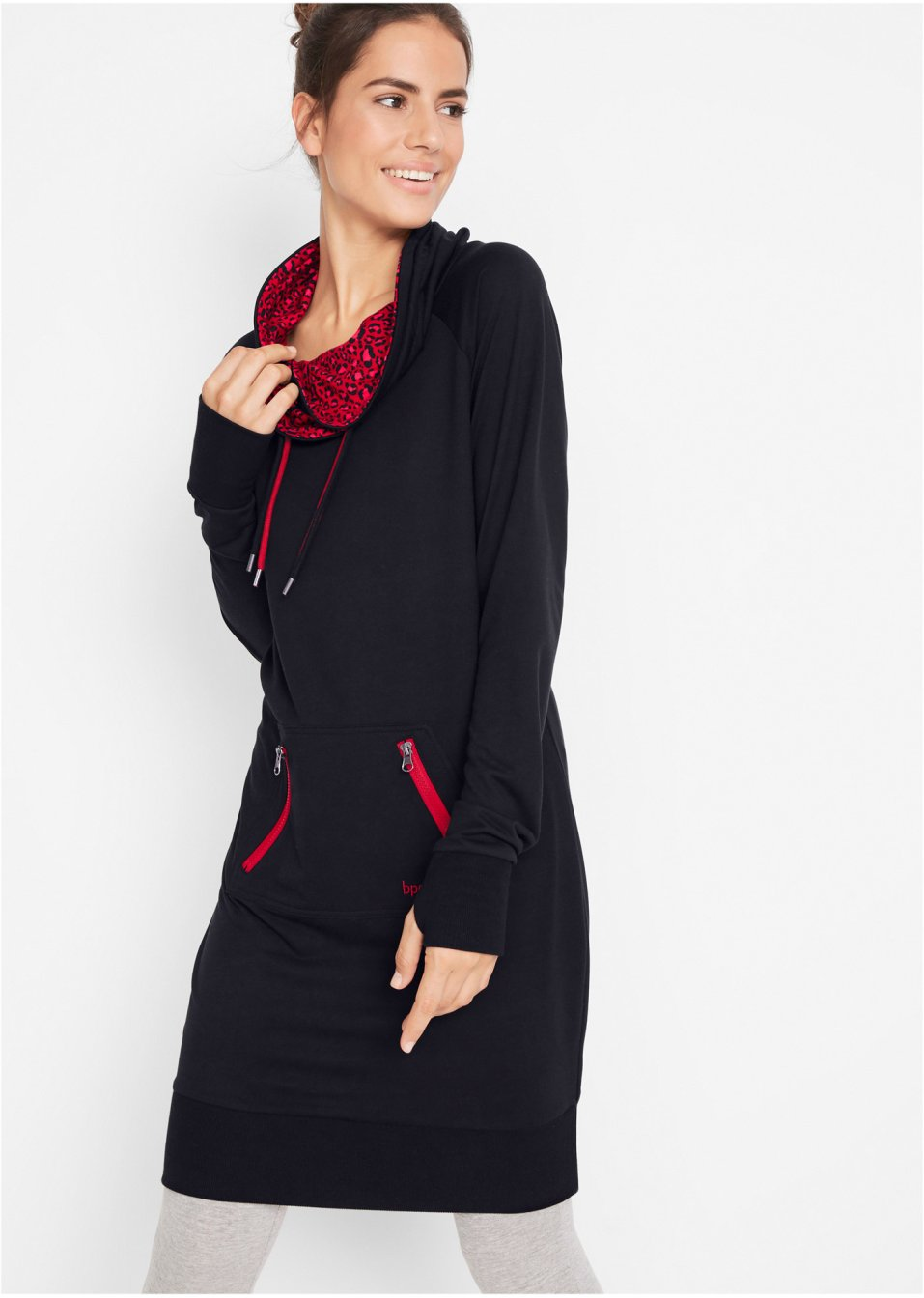 Mode Femme Vêtements DJLfdOFlkj Robe sweat-shirt, manches longues noir Femme .fr