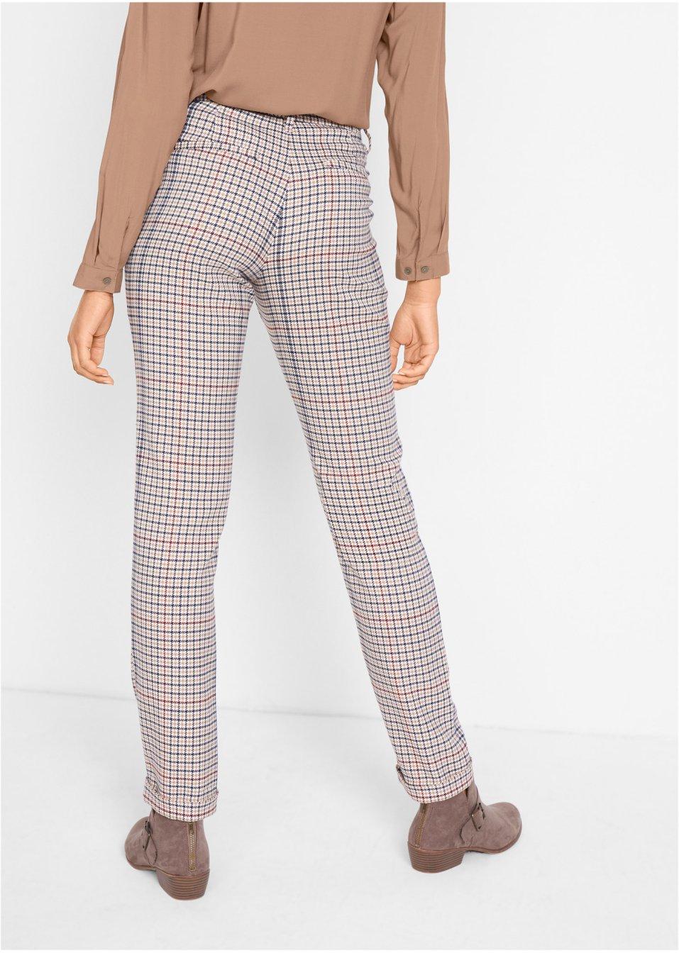 Mode Femme Vêtements DJLfdOFlkj Pantalon à carreaux Prince de Galles camel à carreaux Femme bpc  collection .fr
