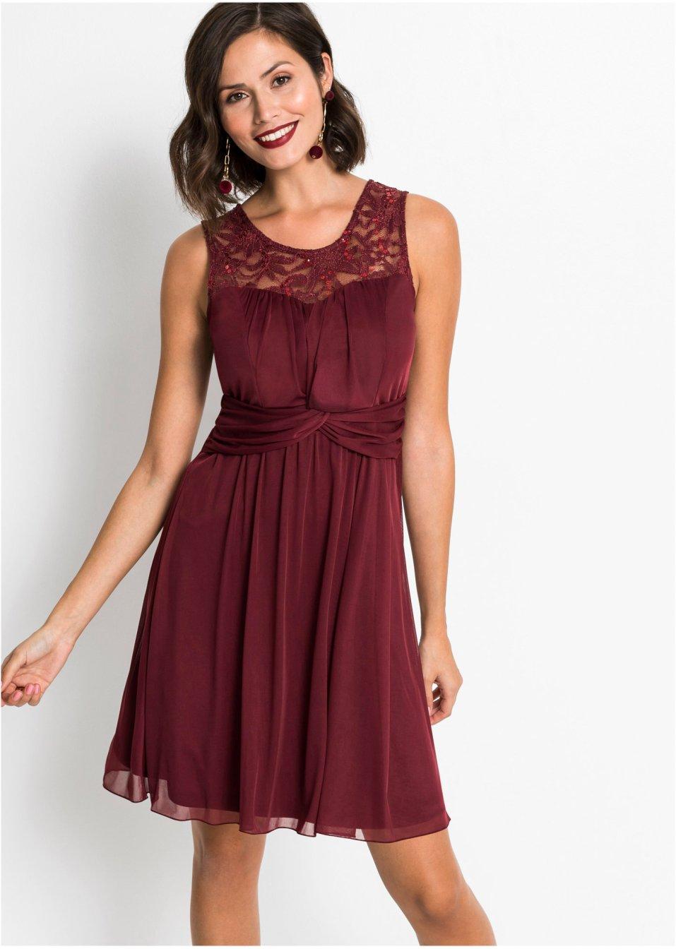 robe bordeaux bodyflirt commande online