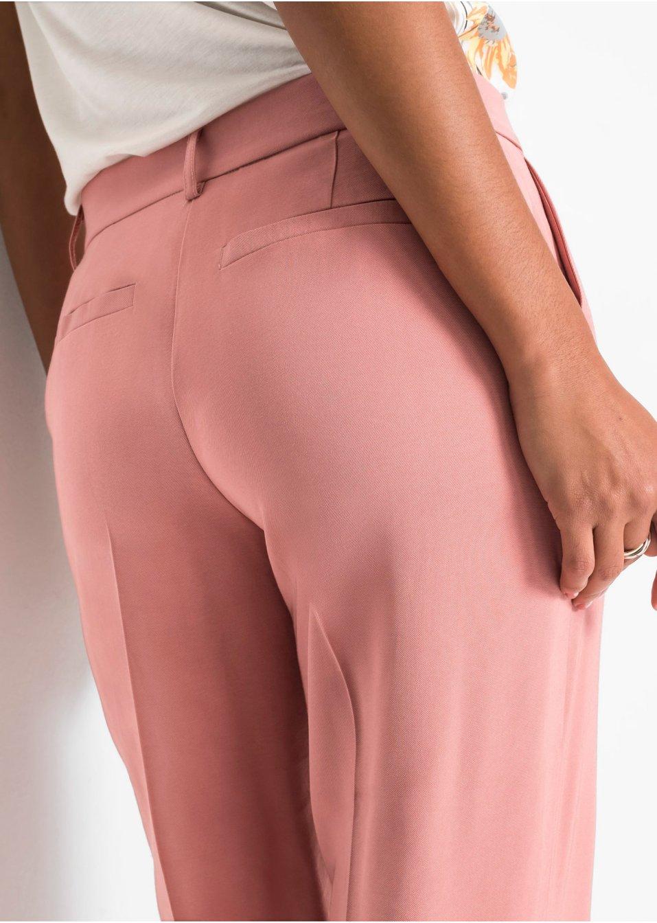 Mode Femme Vêtements DJLfdOFlkj Pantalon, jambes larges pêche fumé BODYFLIRT .fr