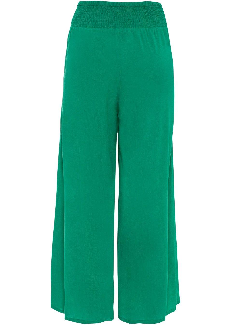 Mode Femme Vêtements DJLfdOFlkj Jupe-culotte avec poches latérales vert