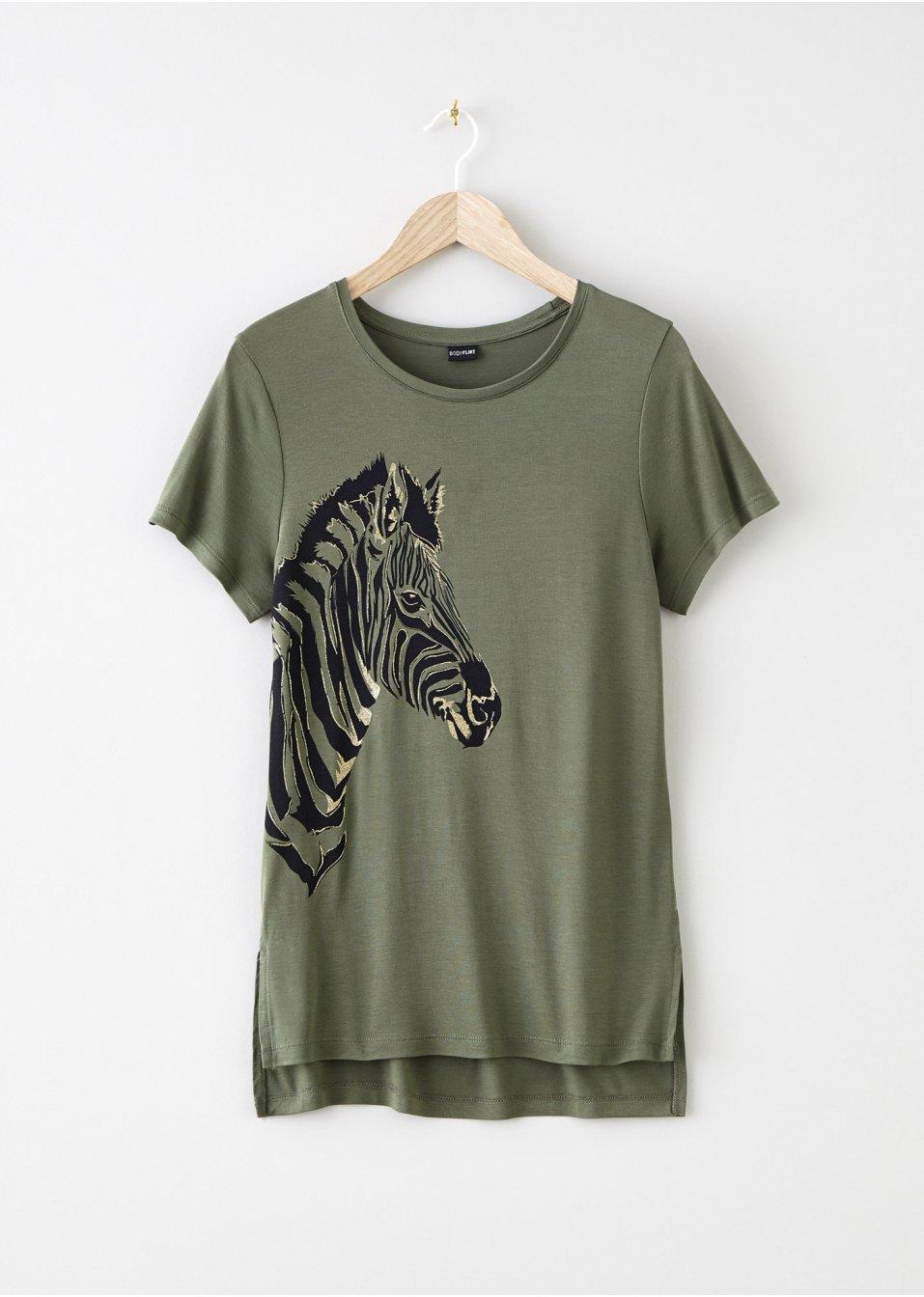 Mode Femme Vêtements DJLfdOFlkj T-shirt olive RAINBOW acheter online .fr