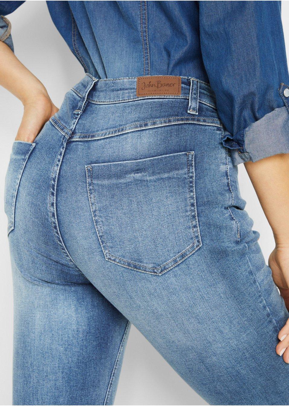Mode Femme Vêtements DJLfdOFlkj Jean Boyfriend bleu John Baner JEANSWEAR acheter online .fr