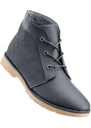 Bottines cuir, bpc selection, anthracite