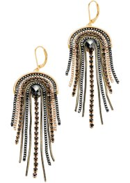 Boucles d'oreilles Inca, bpc bonprix collection, doré antique