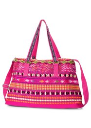 Sac Holiday Feelings, bpc bonprix collection, fuchsia/multicolore
