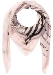 Foulard XXL multi-imprimé, bpc bonprix collection, rose