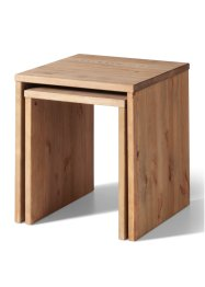 Table d'appoint Joker, bpc living, marron foncé