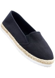 Espadrilles, bpc bonprix collection, noir