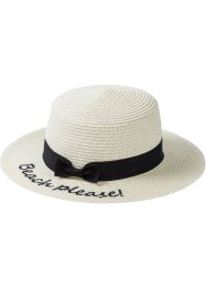 Chapeau de paille Beach Please, bpc bonprix collection
