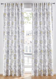 Panneau microfibre imprimé floral (1 pce.), bpc living bonprix collection