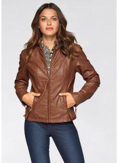 Marron Baner product Veste Cuir John Femme Jeanswear Simili rEdCoeWQxB