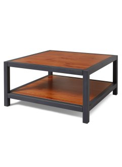Table basse Ferro, bpc living, écru/anthracite