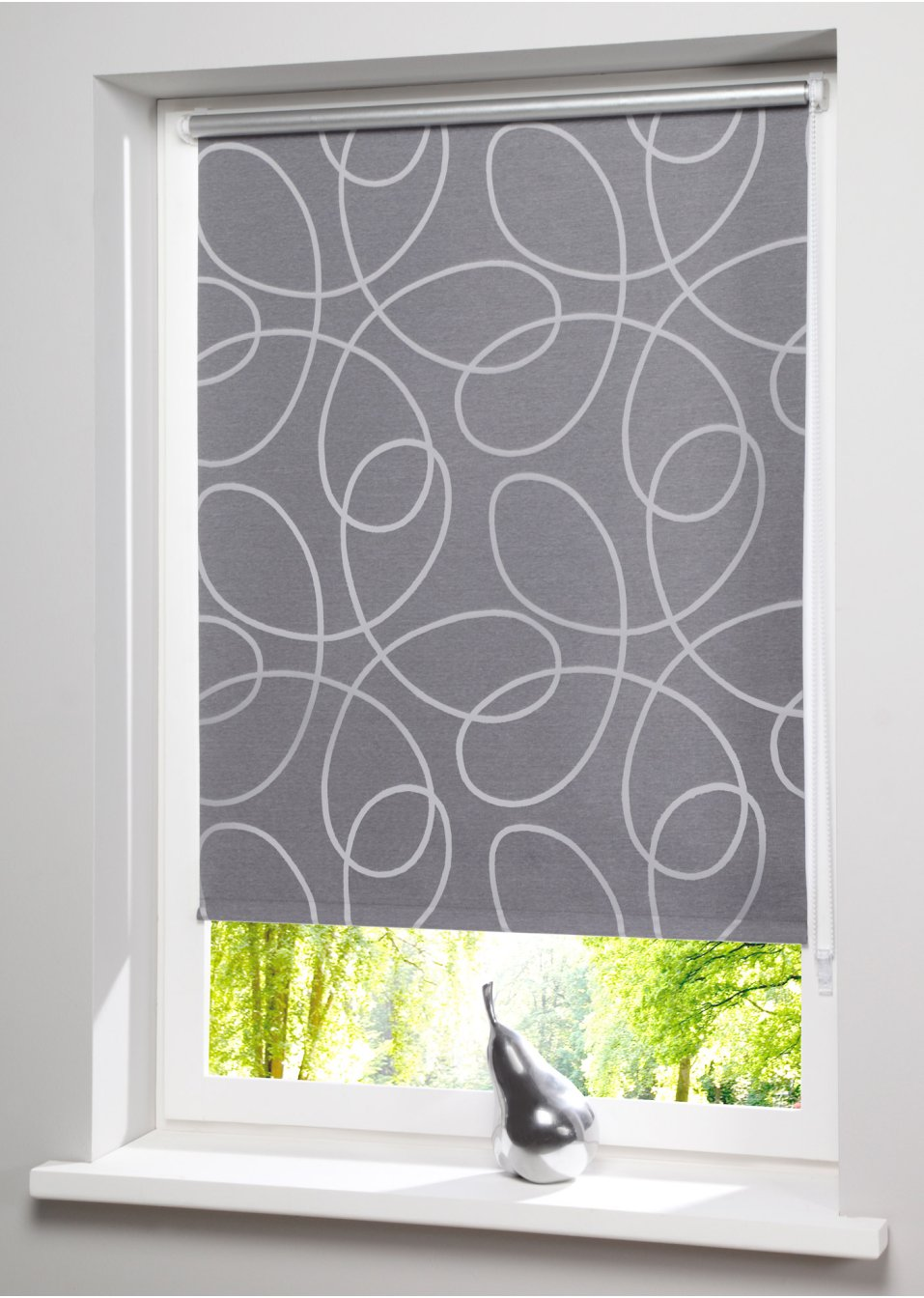 store enrouleur occultant circle fixation clipsable gris. Black Bedroom Furniture Sets. Home Design Ideas
