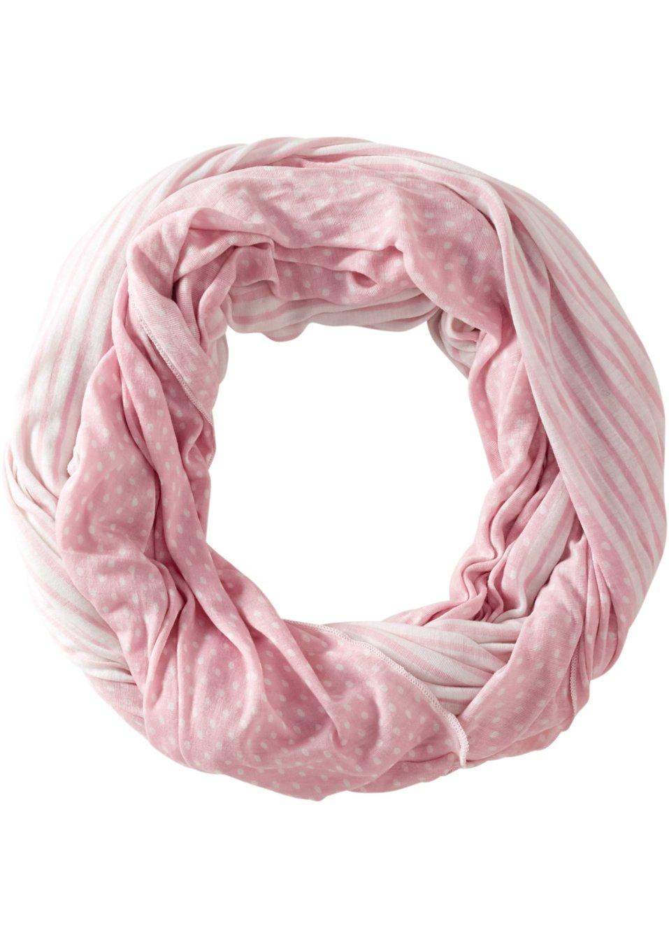 charpe tube rose blanc femme. Black Bedroom Furniture Sets. Home Design Ideas