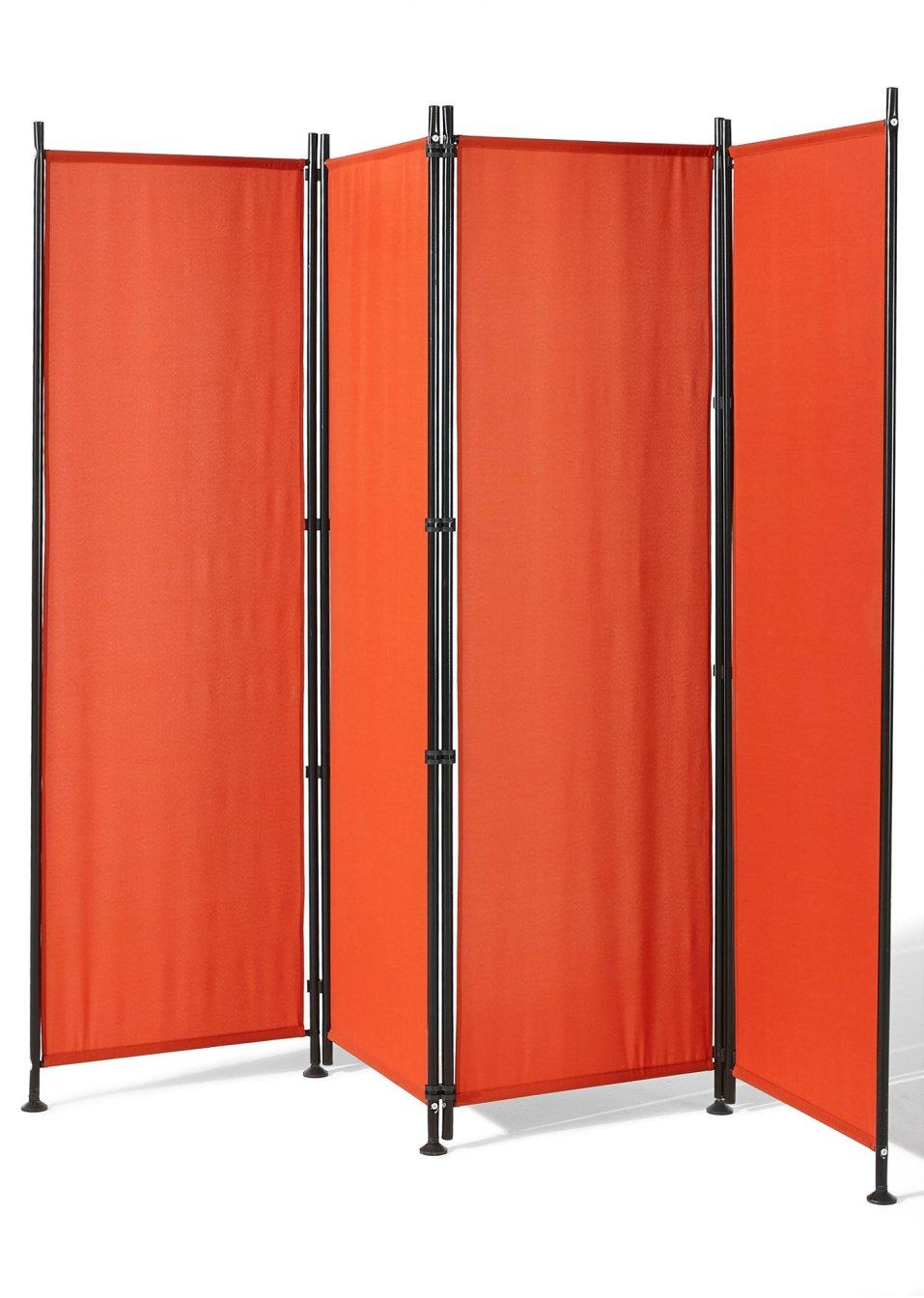 panneau brise vue pliable chypre orange bpc living. Black Bedroom Furniture Sets. Home Design Ideas