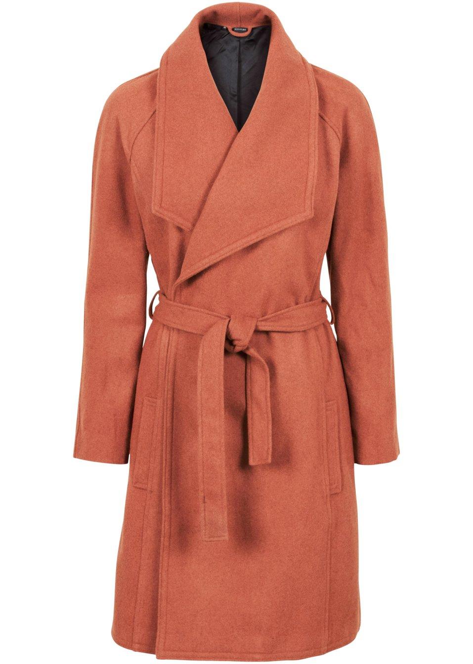 manteau court avec revers cannelle bodyflirt. Black Bedroom Furniture Sets. Home Design Ideas