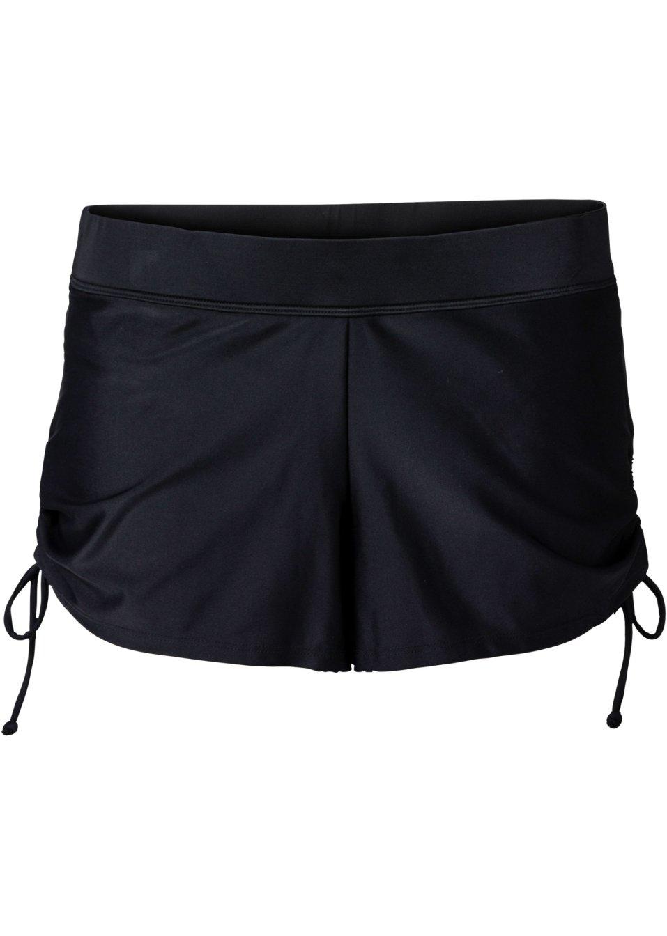 Short de bain avec slip int rieur noir bpc selection for Calecon avec slip interieur