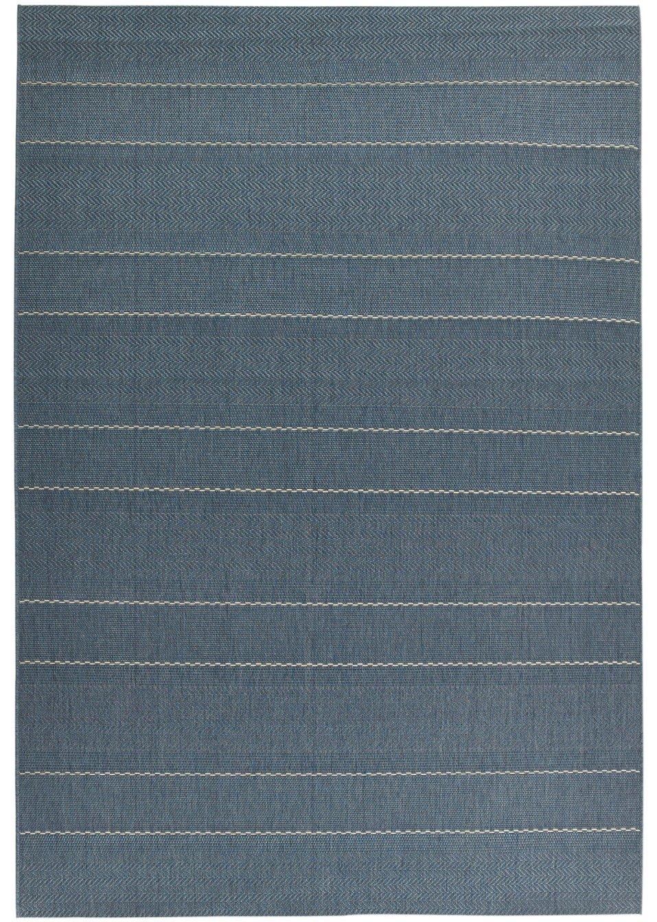 Tapis bayreuth usage int rieur et ext rieur bleu jean for Tapis exterieur bleu