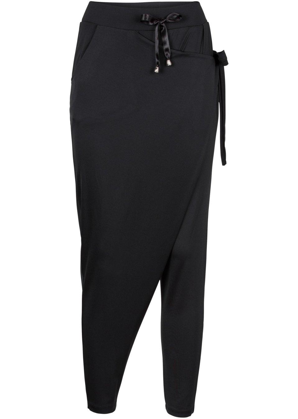 pantalon fluide noir femme rainbow. Black Bedroom Furniture Sets. Home Design Ideas