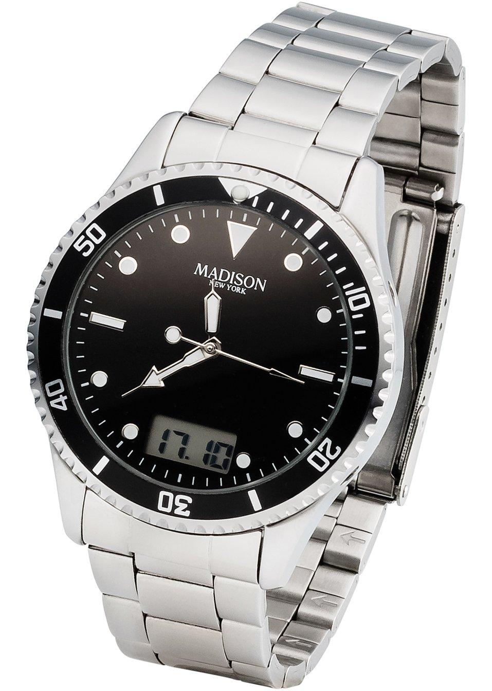 Montre bracelet homme radio pilot e gris acier acheter online - Acheter corniere acier ...