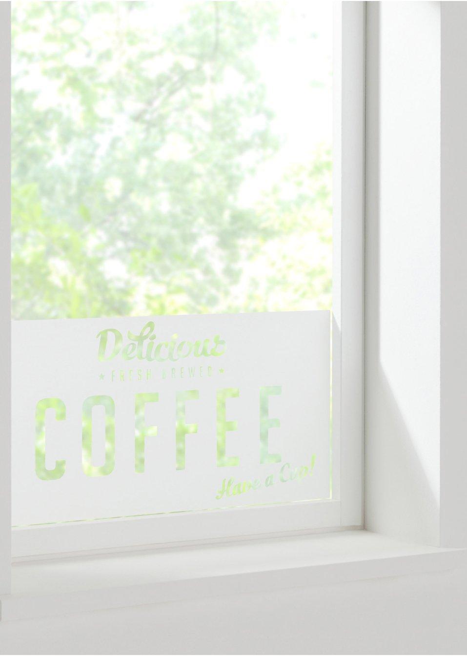 adh sif brise vue pour fen tre coffee gris clair blanc mat