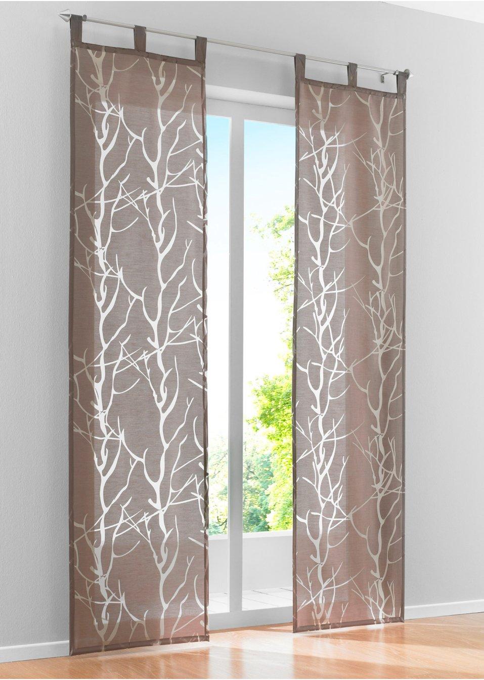 panneau coulissant roya pattes marron bpc living acheter online. Black Bedroom Furniture Sets. Home Design Ideas